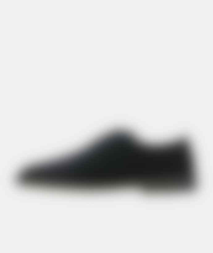 Clarks Originals Black Suede Desert London Shoes