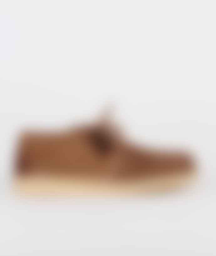 Clarks Originals Cola Hairy Suede Desert Treck Shoes