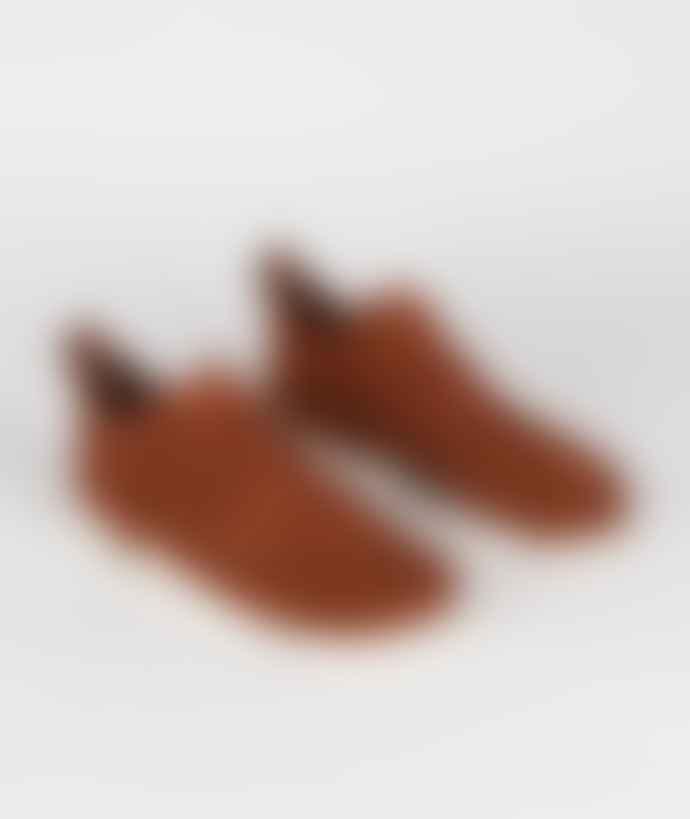 Clarks Originals Dark Tan Suede Trigenic Flex Shoes
