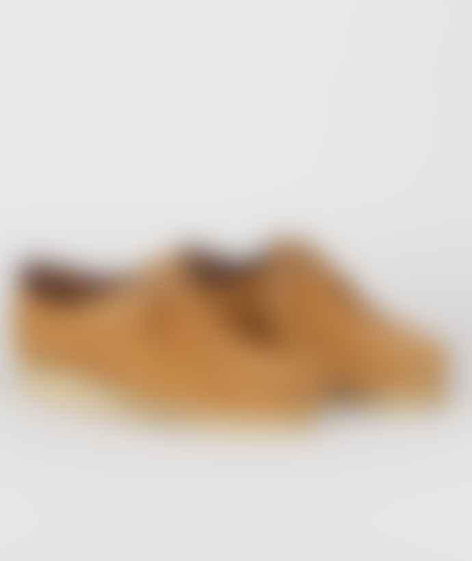 Clarks Originals Camel Suede Wallabee Shoes