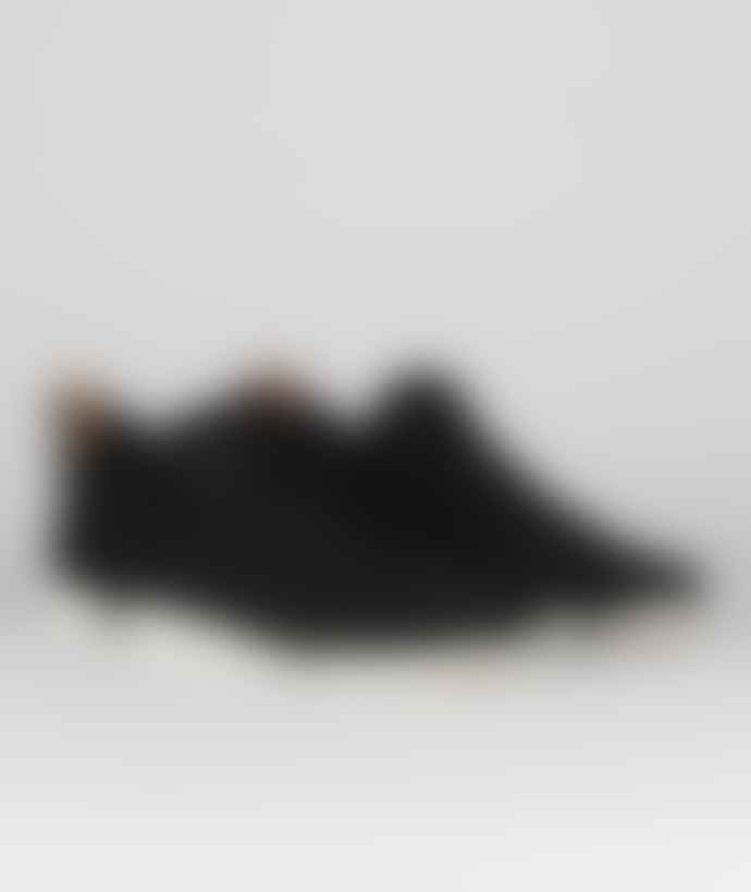 Clarks Originals Size 11 Black Nubuck Trigenic Flex Shoes