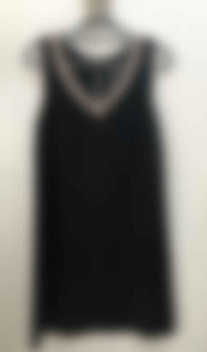 120% Lino 120% POW43970476002 Dress in Black