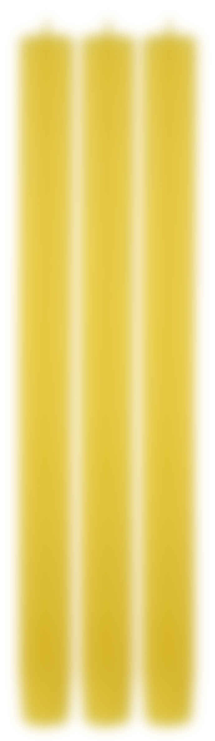 True Grace Yellow Dinner Candle
