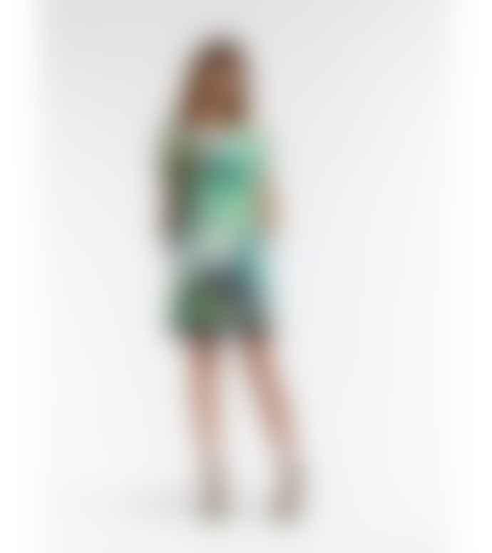 Sandwich Clothing Tropic Print Dress