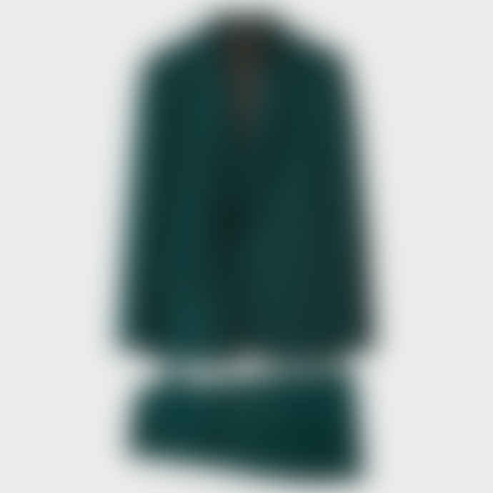 Paul Smith Men's Tailored-Fit Dark Green Wool 'A Suit To Travel In'