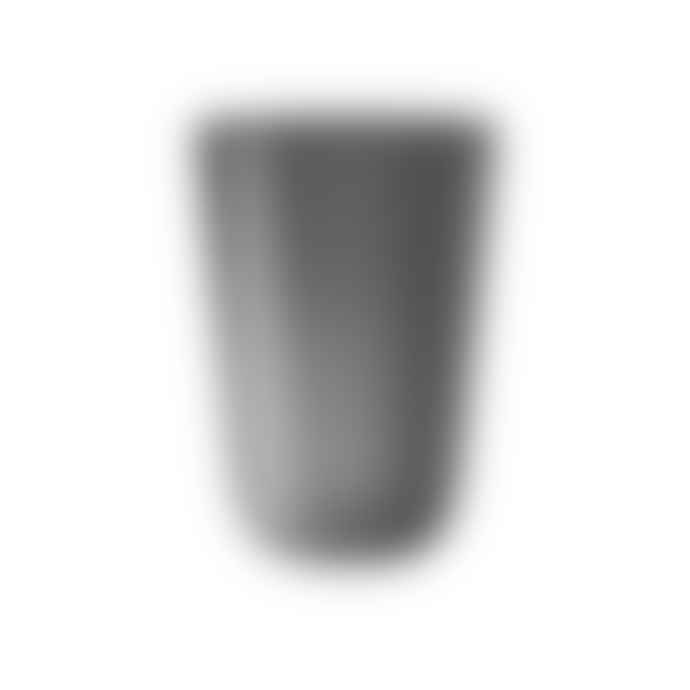 Italesse Tonic Beach Tumbler 500cc Unbreakable Policrystal in Frosted Black Box of 6
