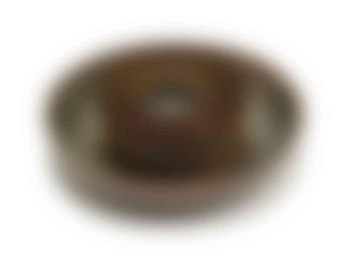 Serax 4 x 19cm Indi Grey Stoneware Deep Plate