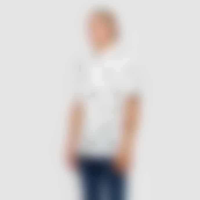 RVLT Short Sleeves Shirt Toucan Print 3705 White
