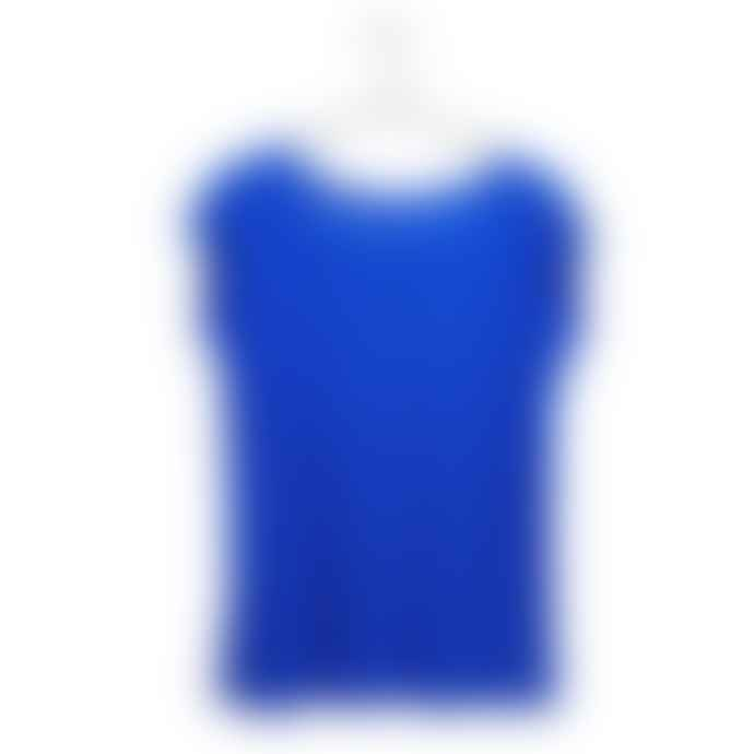 Liebling Malmo Cornflower Blue Organic Cotton Raglan Cap Sleeve T Shirt