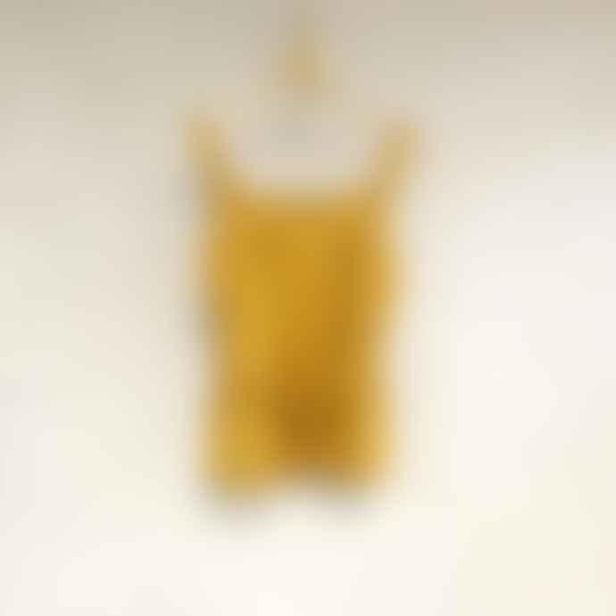 Bric-a-brac Yellow Cotton Malapolskin Top