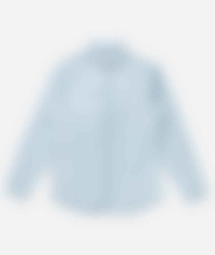 Saturdays NYC Washed Indigo Cotton Crosby Denim Shirt