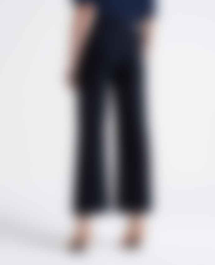 AG Jeans Etta Blue Curiosities Wide Leg Jeans