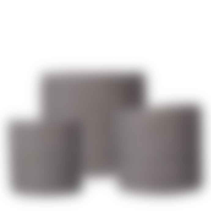 Wikholm Form Natural Jute Pot - Basket- Grey - 13x14 cm