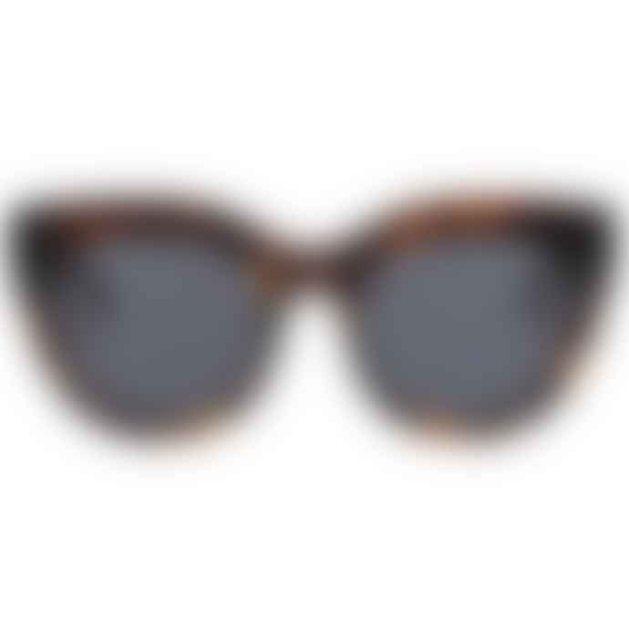 Le Specs Air Heart In Tortoise