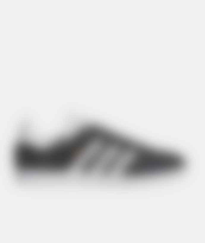 Adidas Dark Grey Heather Leather Originals Gazelle Shoes
