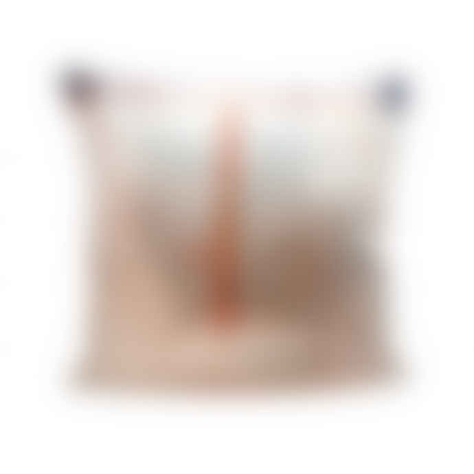 DomeDeco Tom Water Colour Fade Cotton Cushion Cover