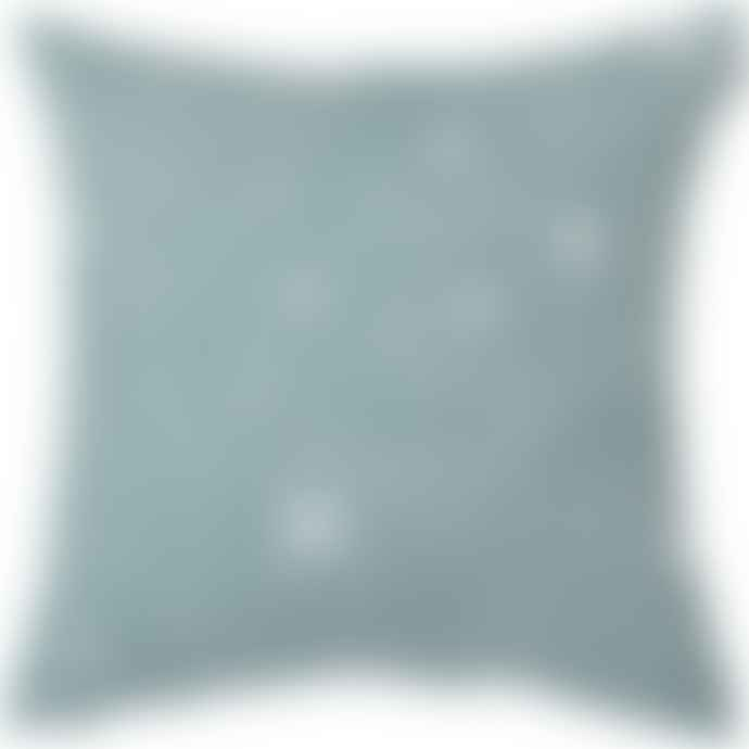 Spira of Sweden Smoke Blue Virvelvind Cushion