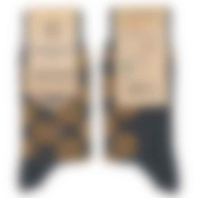 Conscious Step  Socks That Fight Malaria Grey Orange