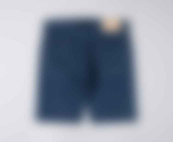 Edwin Ed 55 Shorts Kingston Blue Denim 12 Oz Blue Topias Wash
