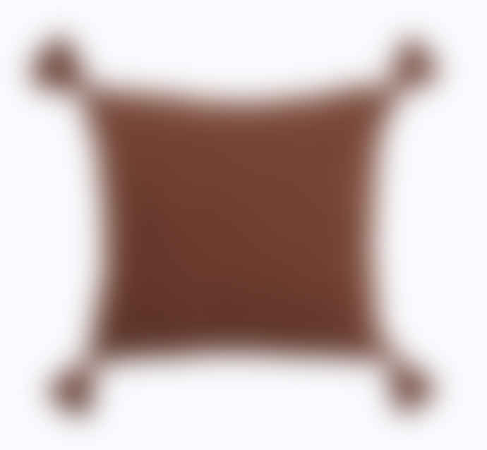 Wallace Cotton Cocoon Square Cushion & Inner