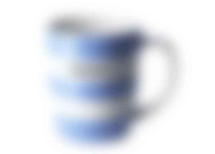Cornishware Farmer 12 Oz Blue Mug