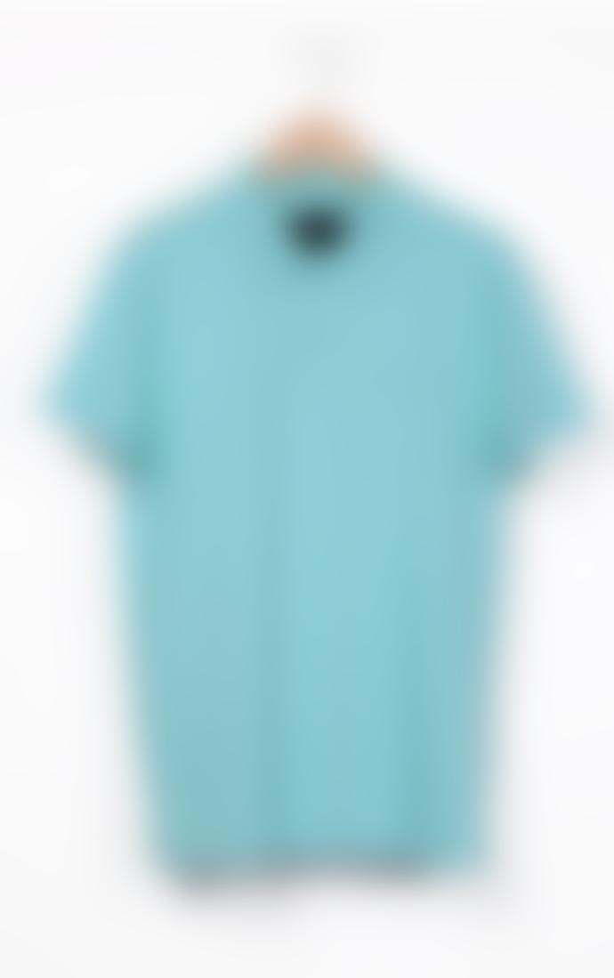 "Bowler Berlin Polo Shirt ""Riviera"" Bahama Blue"