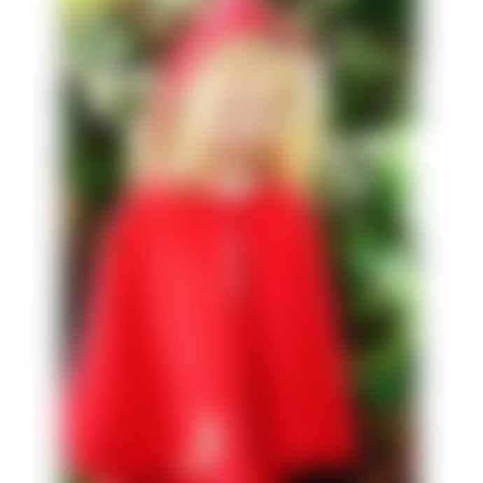 Powell Craft Children's Red Riding Hood Cord Cape