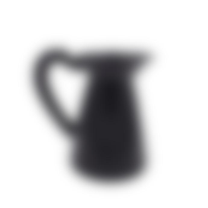 Raine And Humble Large Terracotta Black Jug