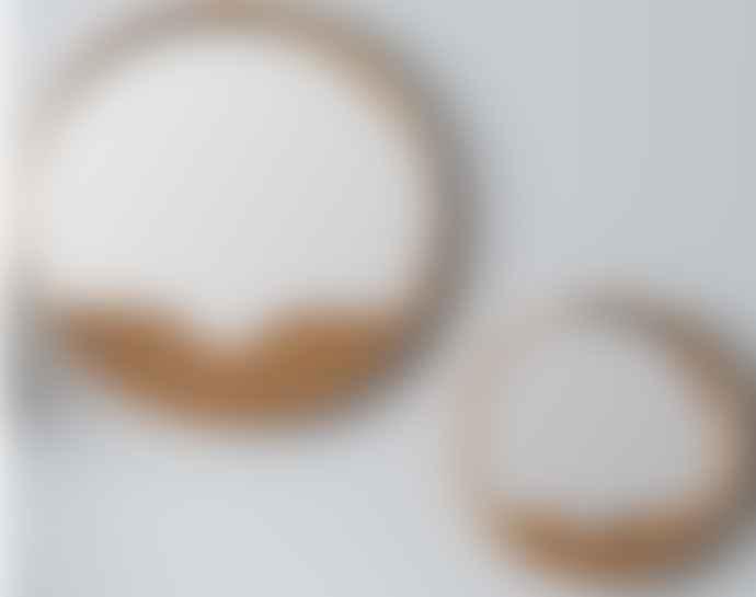 - WOOD MIRROR M (D40cm)