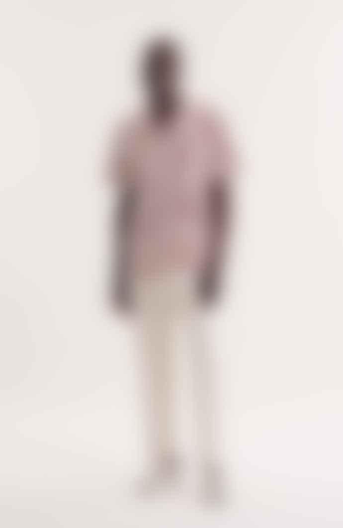 YMC Malick Spot Shirt Brown