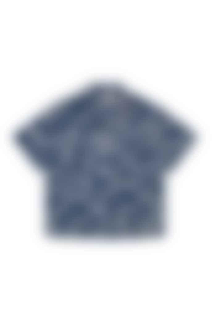 YMC Vegas Tiger Shirt Blue