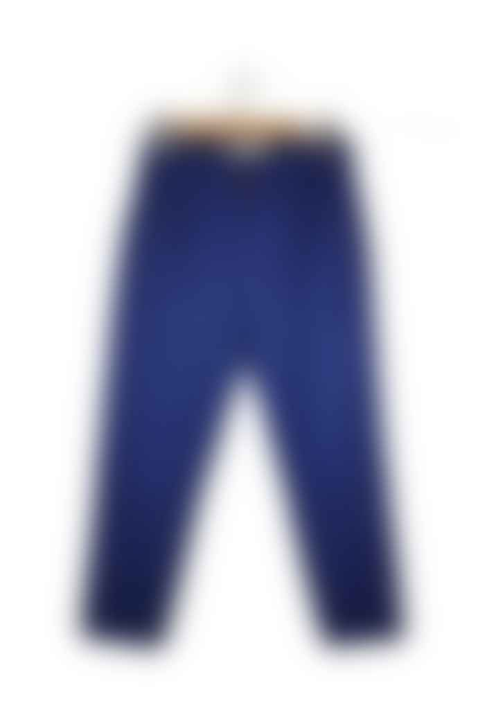 Outland Pantalon Pleats Royal Blue