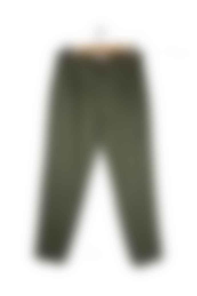 Outland Pantalon Pleats Olive