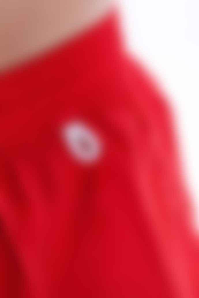 Homecore Bagno Corto Swim Shorts Red Grey Blue Print