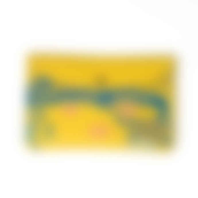 Ark Ark Colour Design Nature Purse - Yellow