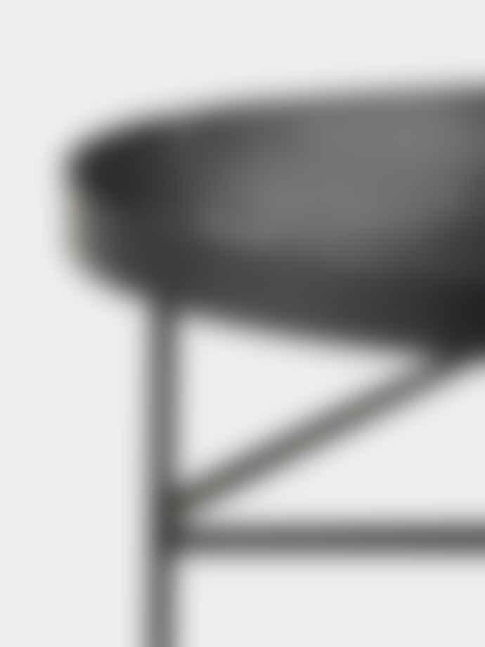 Ferm Living Black Marquina Marble Table - Medium