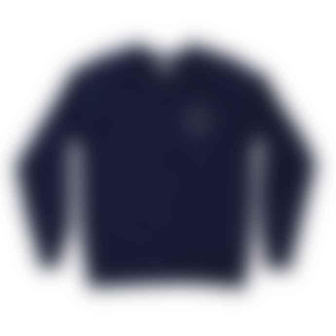 Plain Bear Badge on navy sweater
