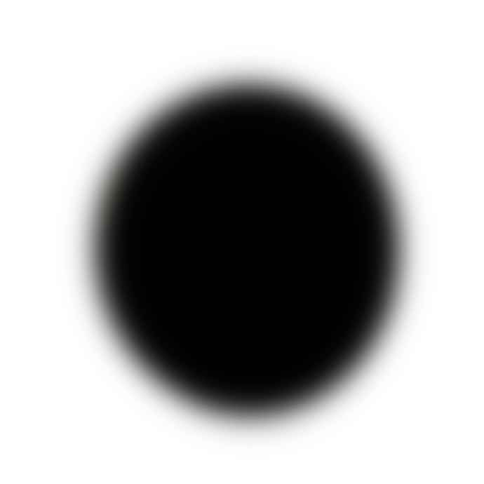 Turina 6cm Black Acrylic Glass Dot Brooch