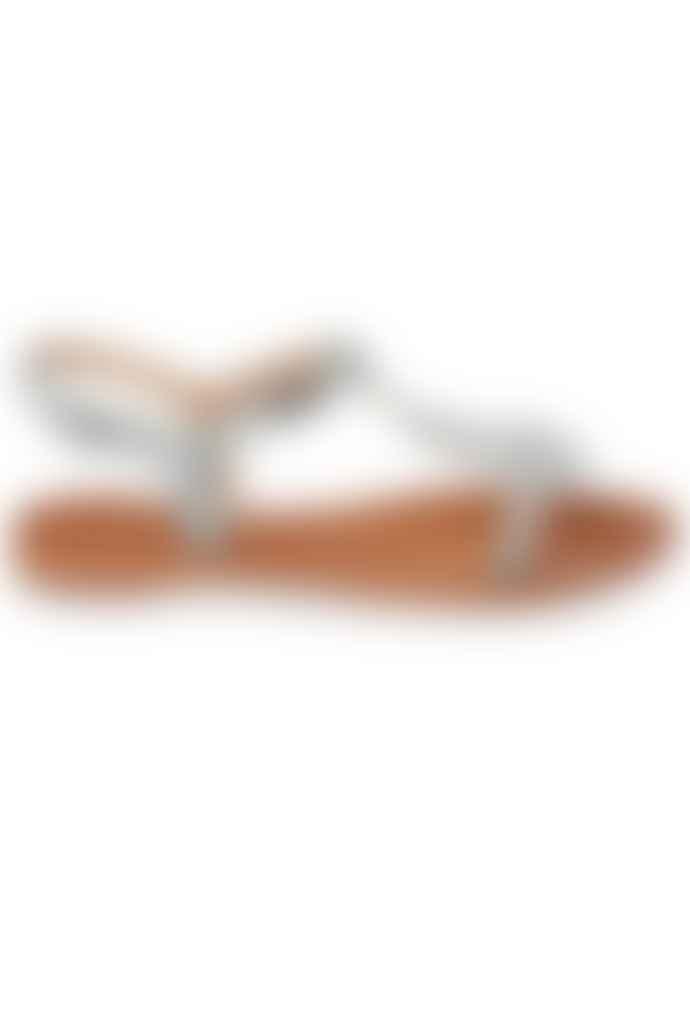 Les Tropeziennes Hamat Sandal Blue Zilver