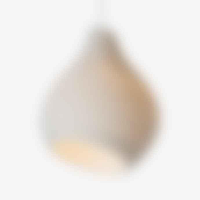 Graypants Scraplights Hive Pendant Light White