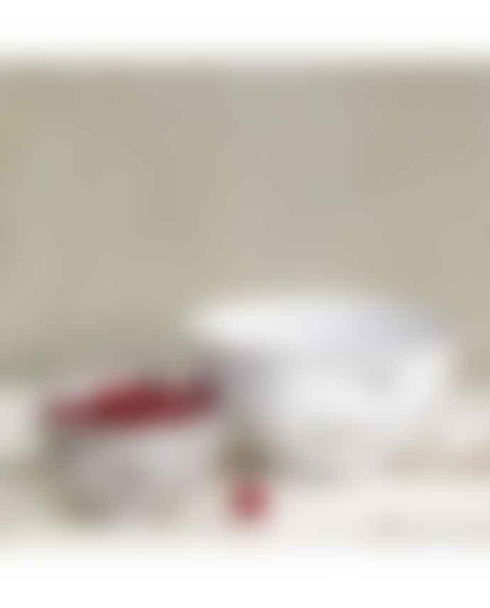 Dassie Artisan Hima Metal Whitewashed Bowl Set 2