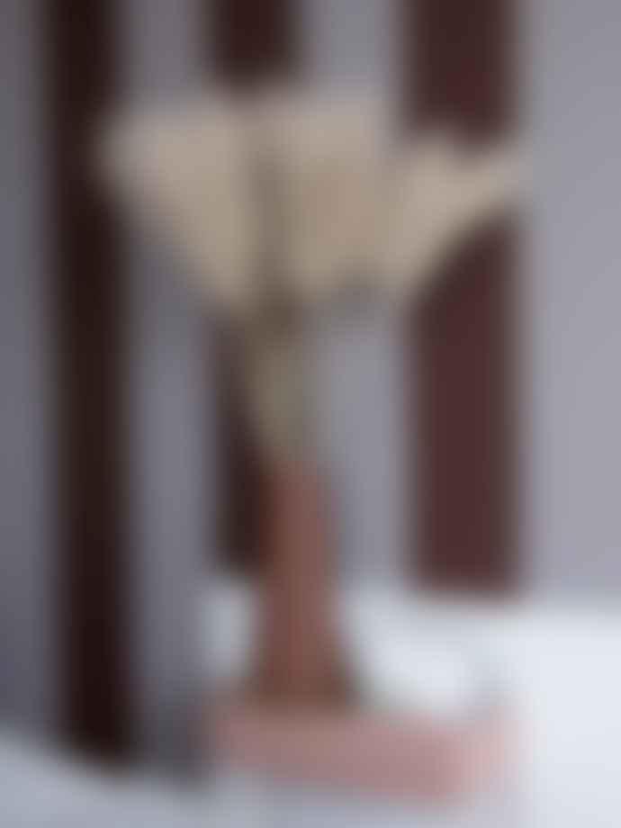 Ferm Living Rust Brown Large Dual Floor Vase