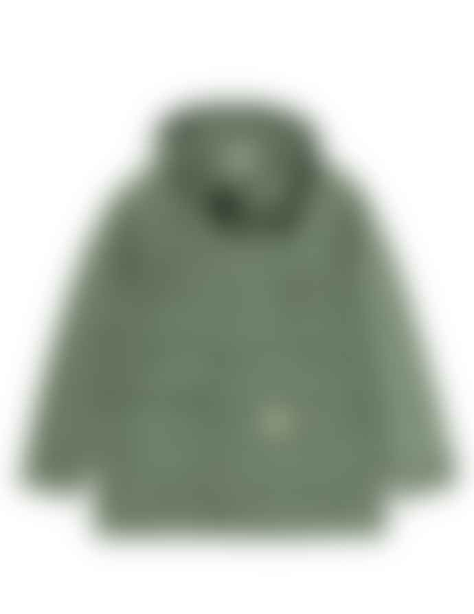 Carhartt Military Green Polyester and Cotton Battle Parka Jacket