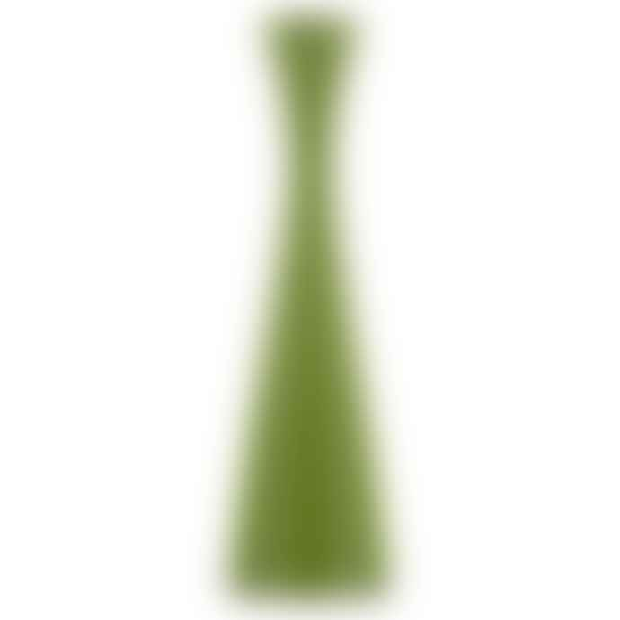 Designs By Colour Tall Olive Green Candleholder