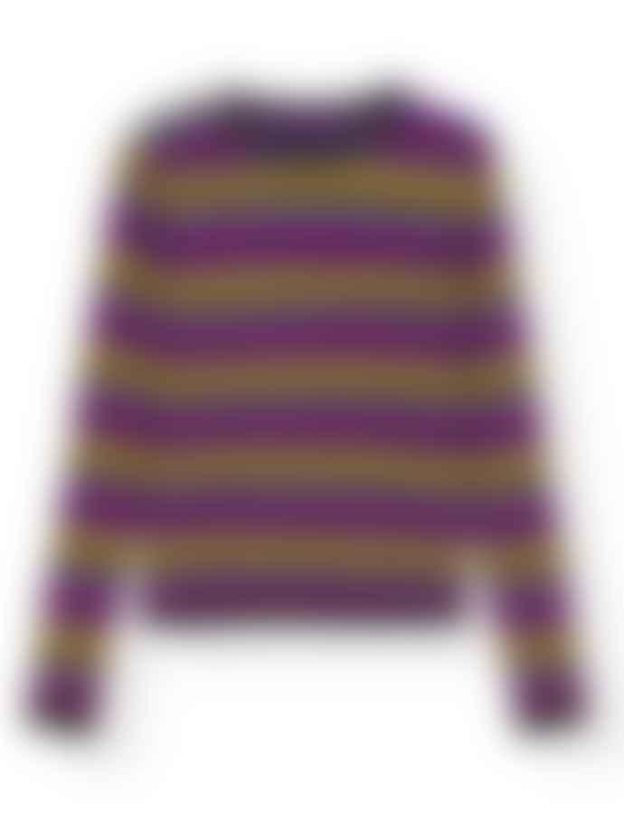 Ganni Striped Cashmere Pullover