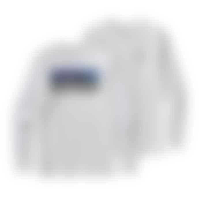 Patagonia P 6 Logo Responsibili L S White T-Shirt