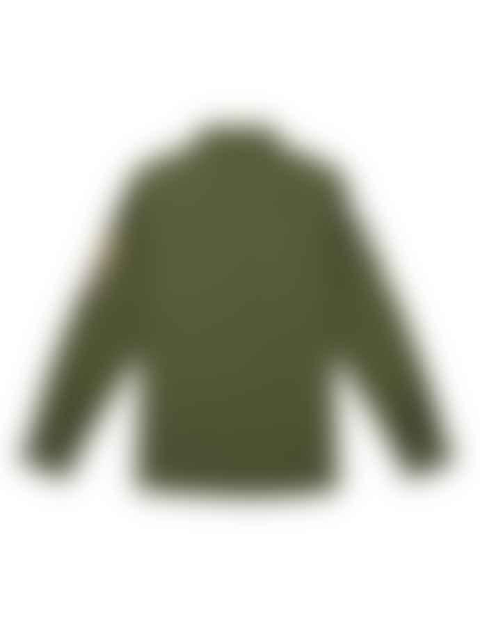 Deus Ex Machina Green Cotton Monty Over Shirt