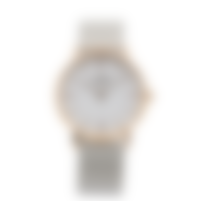 Lund London 39mm Rose Gold Series 3 Watch with 3 Straps
