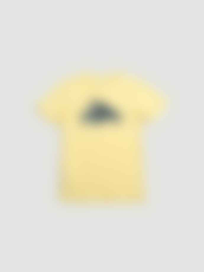 Patagonia Mens Flying Fish T Shirt Yellow