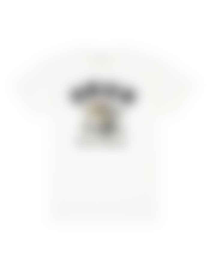 Deus Ex Machina White Cotton Battery Duck T Shirt